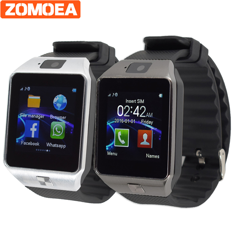 SIM TF card Smart Watch for font b Android b font phone Bluetooth 3 0 Wristwatch