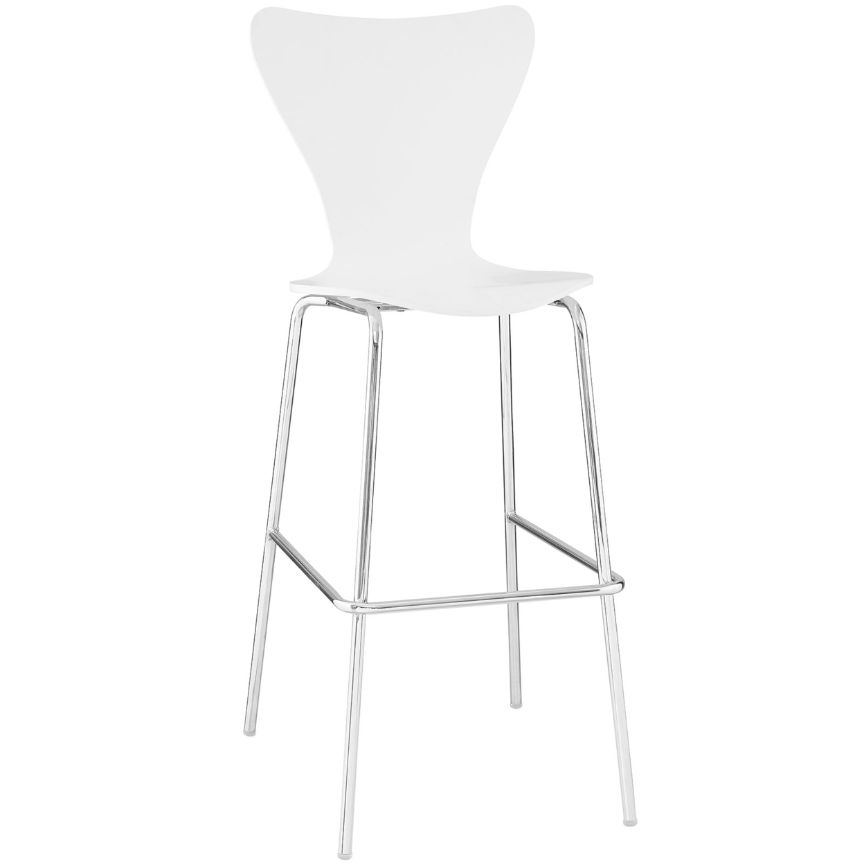 EEI-538-WHI, Ernie Wood Bar Stool ...
