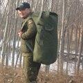 Grande Tela Ao Ar Livre de Acampamento Dos Homens Militar Tático Mochila Mochila Engrenagem Mochila Do Vintage Sacos De Viagem