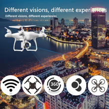 HJMAX Drone Wi-Fi RC Quadcopter Kid Toy Headless Mode Training FPV Easy Operation Remote Control Supper Endurance HD Camera