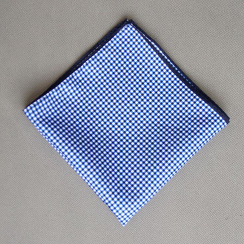Fashion Casual Men's Pocket Square Cotton Floral Handkerchief For Business Suits Wedding Paisley Pocket Hankies