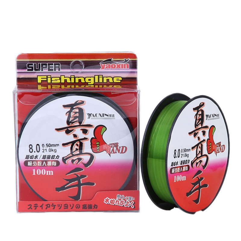 Super Strong Nylon Fishing Line 100M 8-46LB Monofilament Line Fishline for Saltwater & Freshwater anti-corrosion fishing line