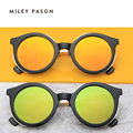 Европейский/Американский классическая мода Ультра-текстурированных HalfMetal ретро Солнцезащитные Очки для мужчин/женщин унисекс с оригинальной коробке UV400 № 261