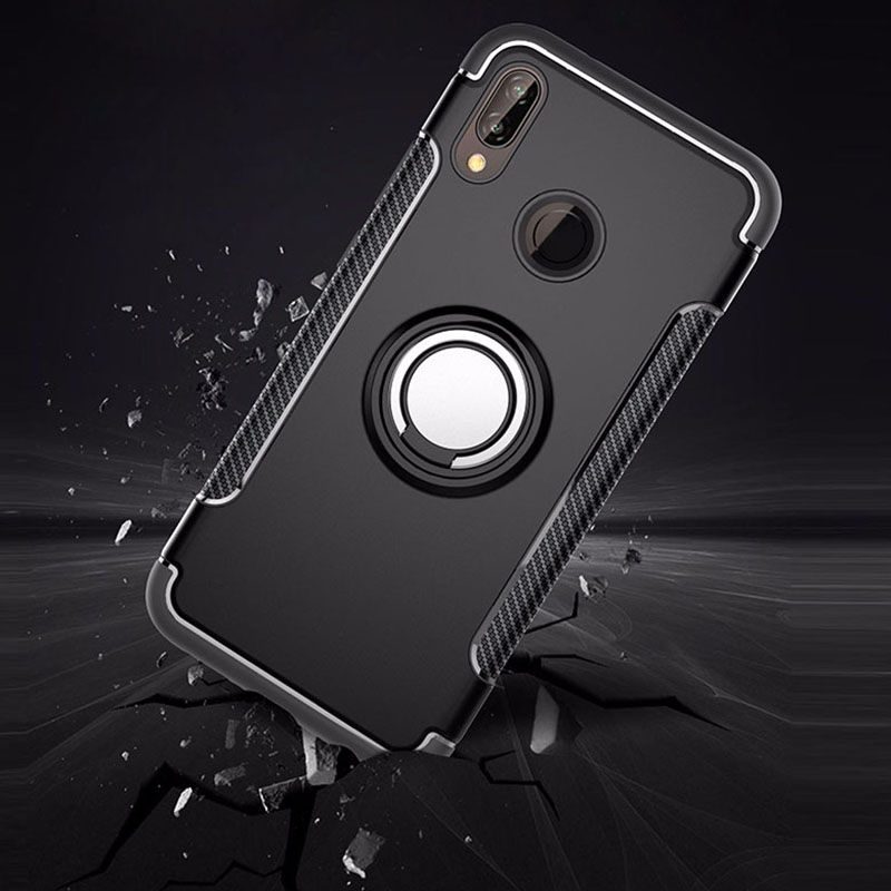 Luxury Armor Metal Magnet Case For Huawei P20 Lite Cover For Huawei P20 Pro Case Shockproof Coque With Phone Holder P20 Cover-in Fitted Cases from Cellphones & Telecommunications on Aliexpress.com | Alibaba Group