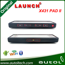Original super car scanner tool Launch x431 pad II Launch's new high-end car fault diagnostic device in good price