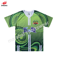 OEM team football shirt high-end customized sportswear soccer jersey polyester breathable material