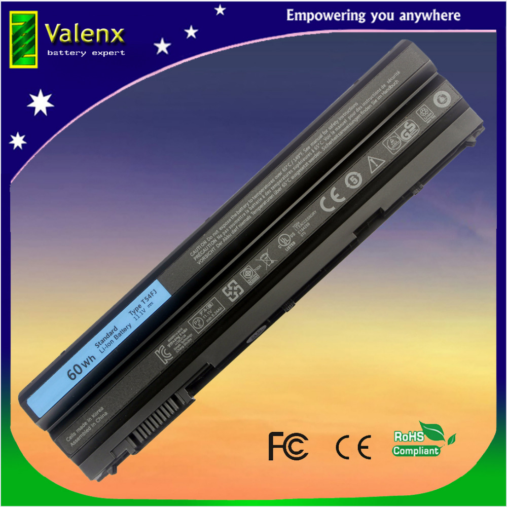 laptop battery for DELL Latitude E5420 E5430 E6420 E6430 E6440 E6520 E6530 T54FJ YKF0M KJ321 M5Y0X P8TC7 jigu laptop battery for dell 8858x 8p3yx 911md vostro 3460 3560 latitude e6120 e6420 e6520 4400mah