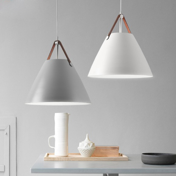 Nordic style modern minimalist creative hanging lights bar living room lamps dining room bedroom Pendant Lights nordic minimalist modern bar with balcony hanging in the bedroom living room creative personality single head cafe