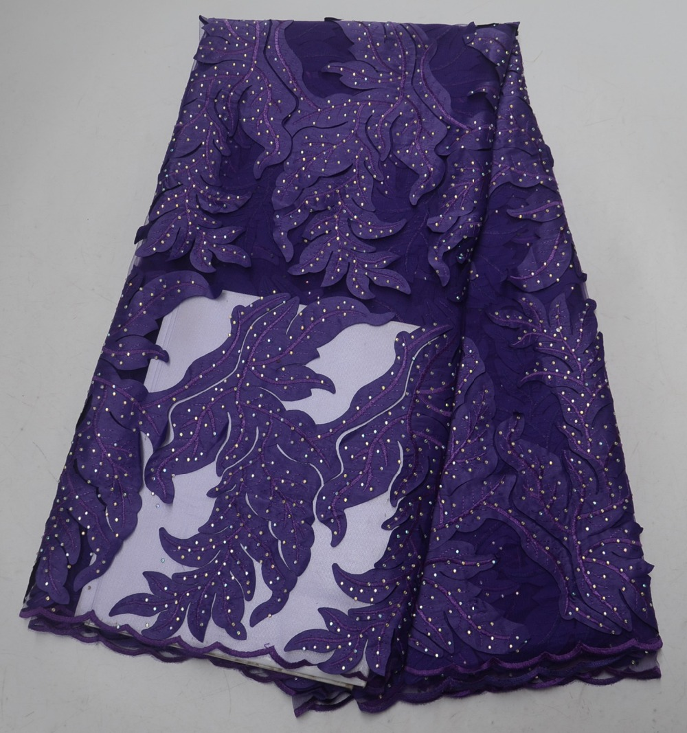 New design African lace fabrics with exquisite gem lace fabrics Nigeria mesh lace dress fabricsNew design African lace fabrics with exquisite gem lace fabrics Nigeria mesh lace dress fabrics