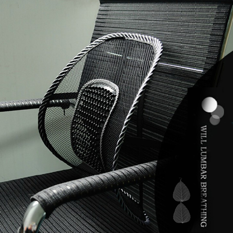 New Mesh Lumbar Back Support Cushion Seat Posture Corrector Car Office Chair Brace Support Home Car Seat Chair CushionNew Mesh Lumbar Back Support Cushion Seat Posture Corrector Car Office Chair Brace Support Home Car Seat Chair Cushion