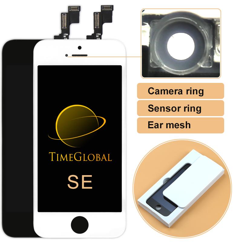 Prix pour 10 pcs freeship tous testés aaa + + + alibaba chine pour iphone se écran lcd avec écran tactile en verre digitizer assemblée