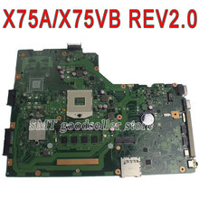 For Asus Motherboard A75A X75A X75A1 X75VB REV2.0 Mainboard PGA989 HM76 4GB On board 60-NDOMB1D01-A04 100% Test