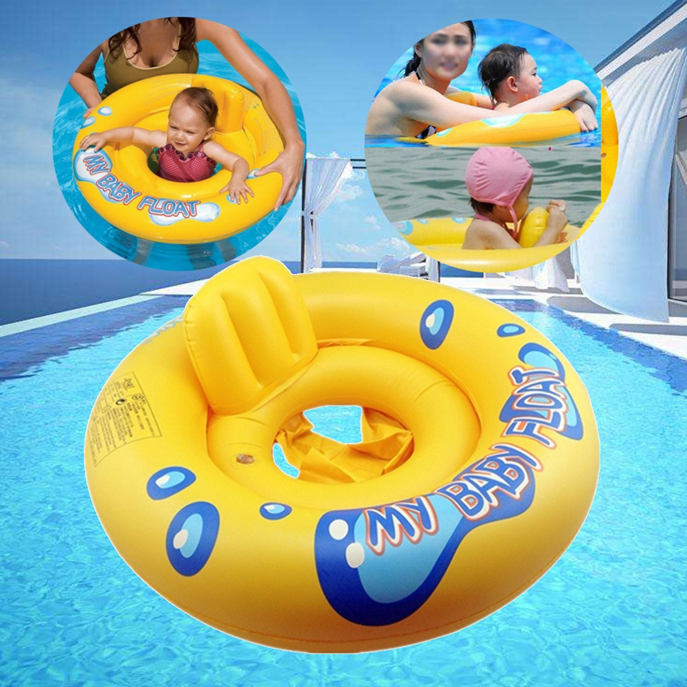US $8.46 15% OFF|Inflatable Baby Float Swimming Circle Air Mattress Seat  Boat Tube Ring Rubber Swim Swimming Pool Toys Ring Portable accessories-in  ...
