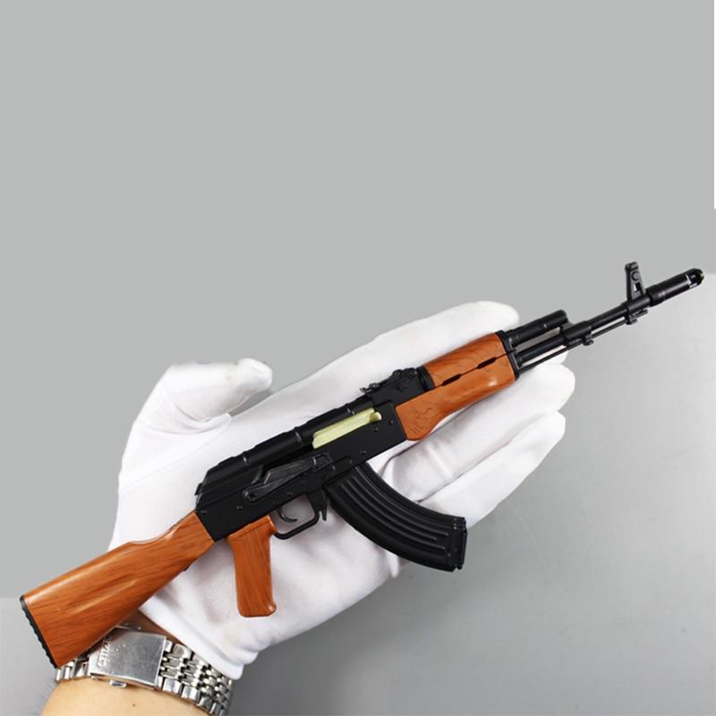 1: 3.5 İsti Satış AK47 metal oyuncaq silah modeli Toy Guns snayper - Uşaq konstruktorları - Fotoqrafiya 3