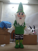 Ohlees christmas gift Santa Claus mascot costume High quality Free EMS shipping children toys
