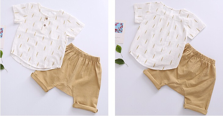 2019 New Kids Clothes Spring Boys Clothing Sets T Shirt + Shorts Toddler Boys Clothing Baby Boy Fluid Systems Clothes Brand 25