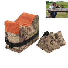 Hunting Gun Accessories Military Front & Rear Bag Unfilled Rifle Support Outdoor Sniper Shooting Sandbag