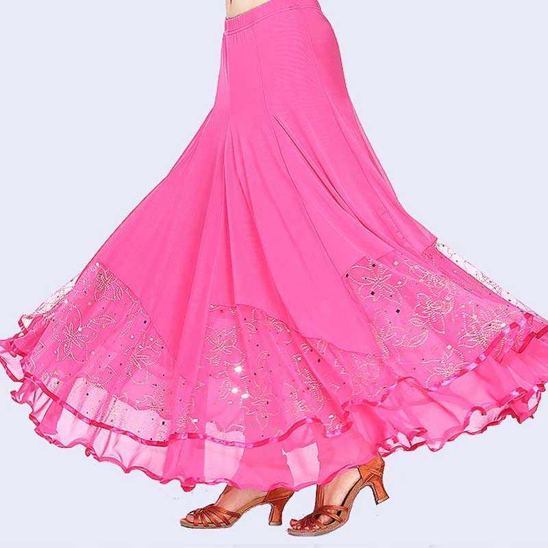 Женское бальное танцевальное платье для девочек, длинное платье для танцев, Современный Стандартный Вальс-конкурс, танцевальное платье для живота, латиноамериканское танцевальное платье для танго, 5 цветов