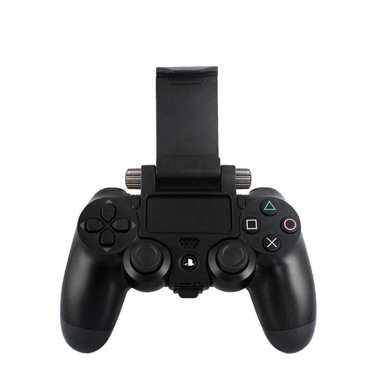 Game Controller Smart Phone Clip Clamp Mount Adjustable Bracket Handset For Samsung iPhone Holder For PS4 Game Controller