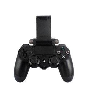 Image 3 - משחק בקר חכם טלפון קליפ מהדק הר מתכוונן סוגר מכשיר לסמסונג iphone מחזיק PS4 משחק בקר