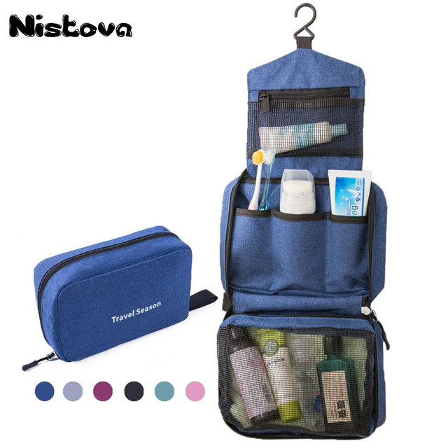f3d15f4596e4 Travel Cosmetic Bag Men Wash Shaving Bag Waterproof Women toiletry Storage  Large Capacity Vanity organizer toilet bag makeup kit