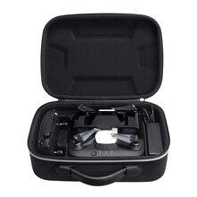 DJI 스파크 및 충전기 및 리모컨 용 방수 하드 드론 박스 여행용 캐리 백 보관 케이스 박스 파우치 충전 용