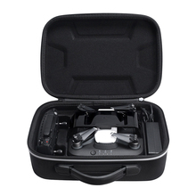 Water resistant Hard Drone Box for DJI Spark & Charger & Remote Controller Travel Carry Bag Storage Case Box Pouch for Charging