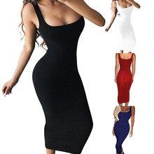 Women Dress Shirt Sleeveless Lose Long Maxi Casual Fashion Sleeve Party Evening