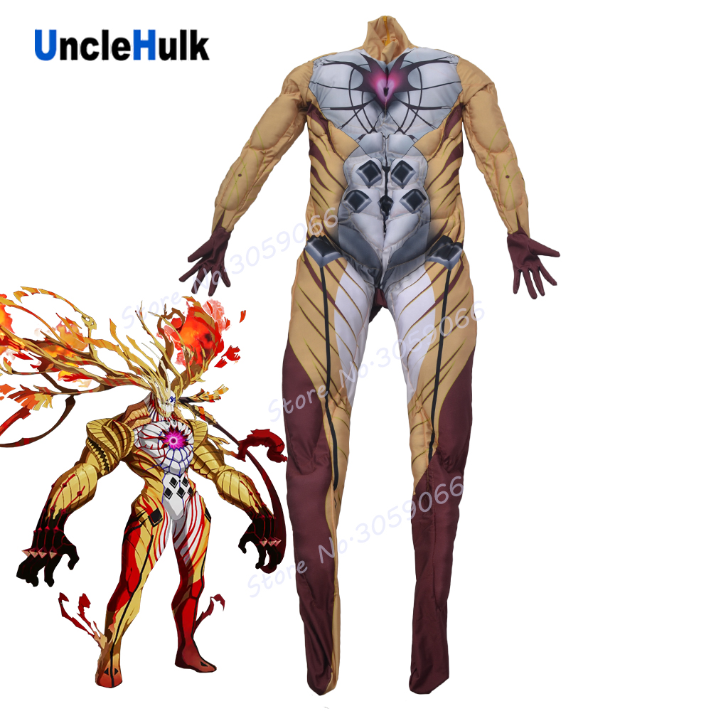 Goetia FGO Beast 1 Cosplay Costume - with muscle | UncleHulk