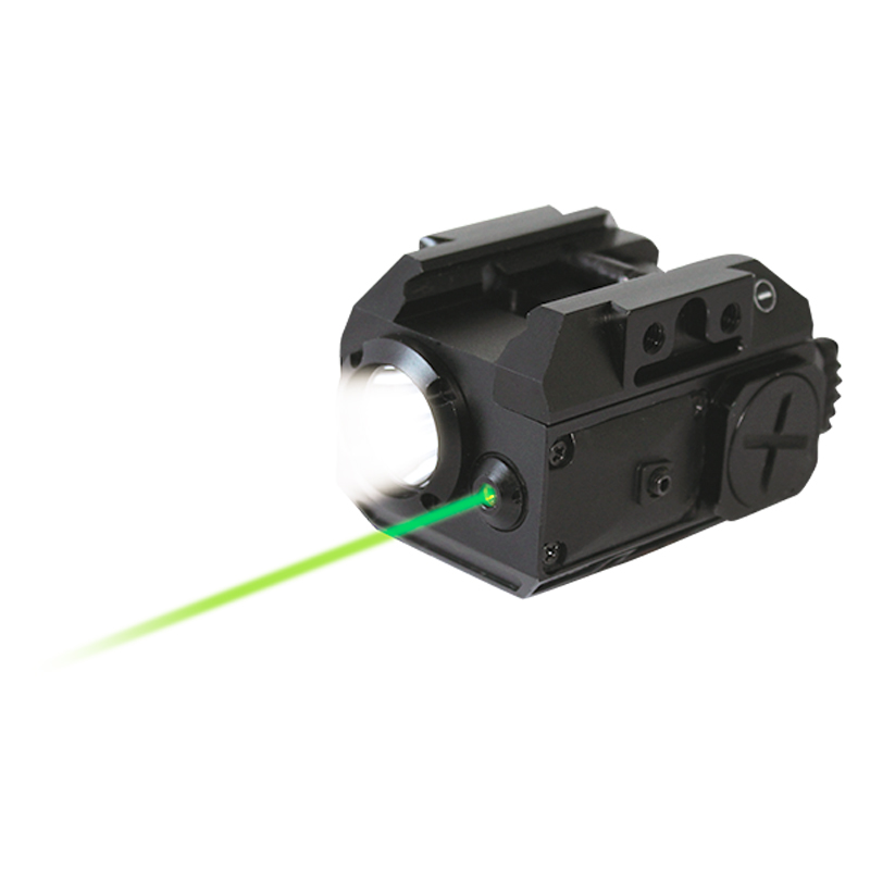 Laserspeed Drop shipping Green laser sight with LED weapon light combo for gun pistol green laser