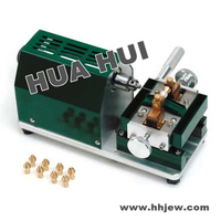 Free shipping 220V 6000rpm New Jewelry Pearl Drilling (Holing )Machine with 7pcs Tungsten Steel Pearl Driller Holing Machine