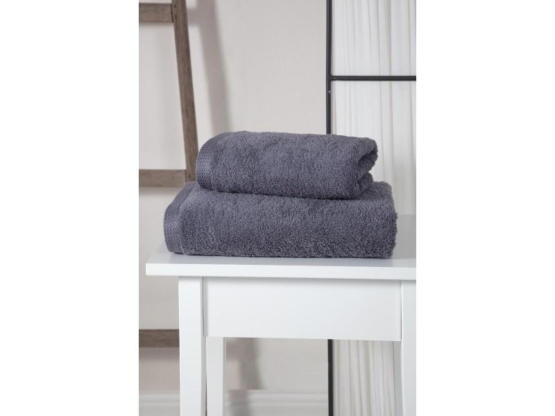 towel bath wellness симпл 70 140 cm peach Towel bath KARNA, APOLLO, 70*140 cm, Gray