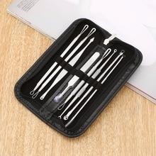 8 Pcs Blackhead Remover Tool Kit Pimple Acne Clip Needle Face Care