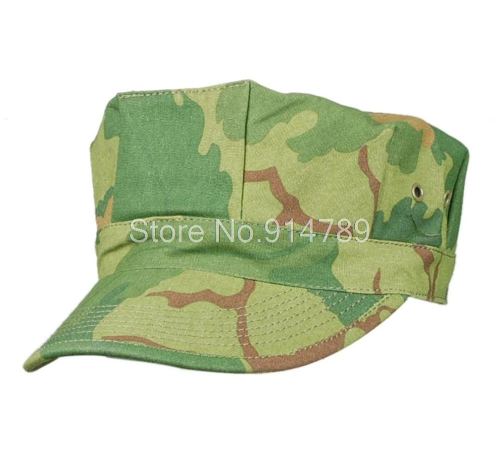 Vietnam War Us Mitchell Camo Utility Cap Size L-34353 Agreeable To Taste Apparel Accessories Men's Hats