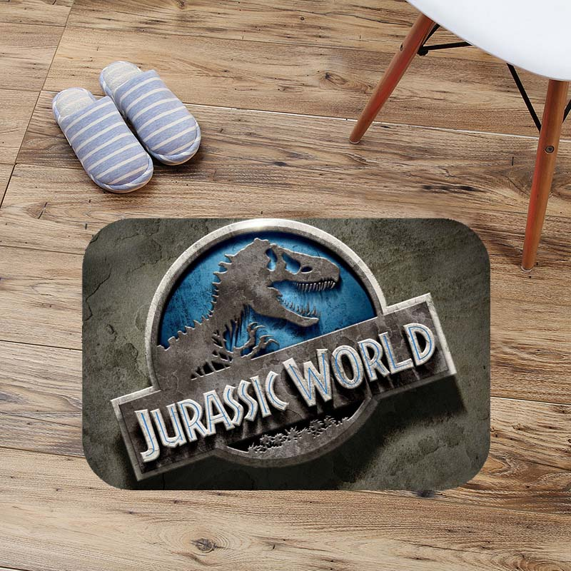 Jurassic World Doormat Custom Floor Mat Rug Indoor Outdoor Bathroom Mats Soft Anti-Slip Carpet