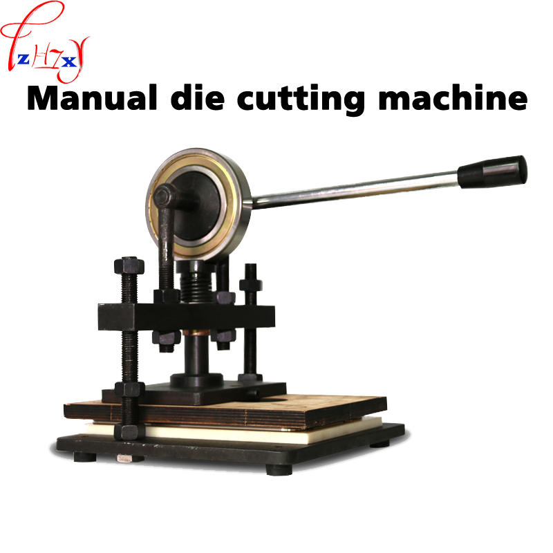 Manual knife die press pressure cutting leather undercutting machine manual leather mold die cutting machine