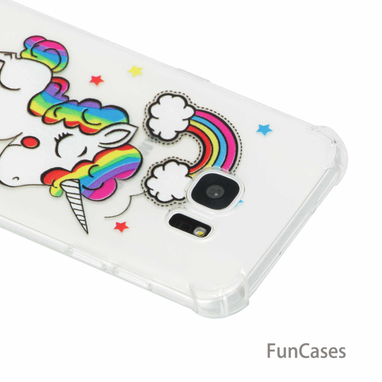 7e739ca03e1 ... Flower Case sFor Cellular Samsung S7 Edge Soft TPU Back Cover Aksesuar  Geometric Phone Etui Case ...