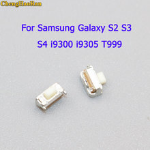 ChengHaoRan 2-10 pcs for Samsung Galaxy S3 S4 SGH Note2 T999 i9300 I9500 N7100 Power Key Button On/Off Switch цена