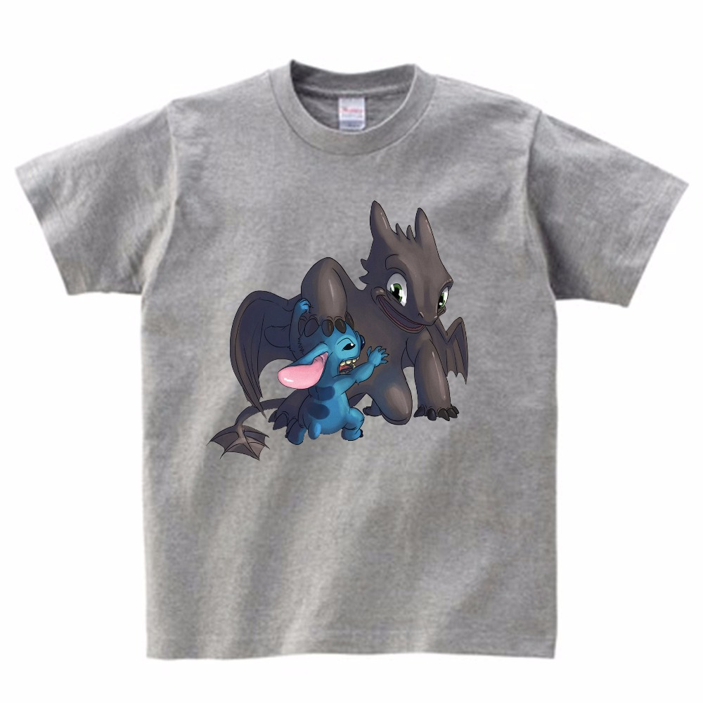 2019 Boy Summer T Shirt Newest How To Train Your Dragon 3 Children Kids Tops Tee T shirts Sports Wear Casual Clothes MJ in T Shirts from Mother Kids
