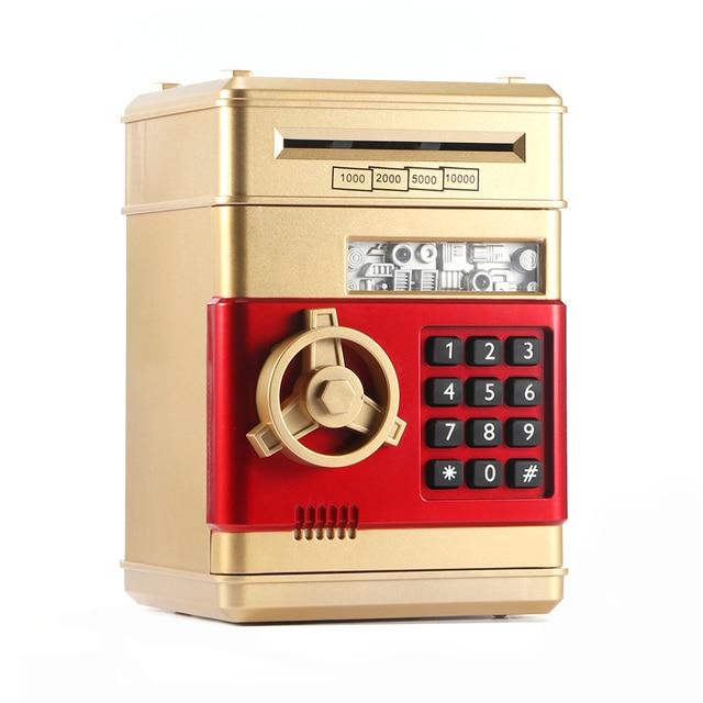 Piggy Bank Atm Pword Money Box Cash