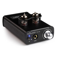 Original XDUOO TA 02 6J1 X 2 Hifi Audio Stereo Vacuum Tube Headphone Amplifier Dual Tube