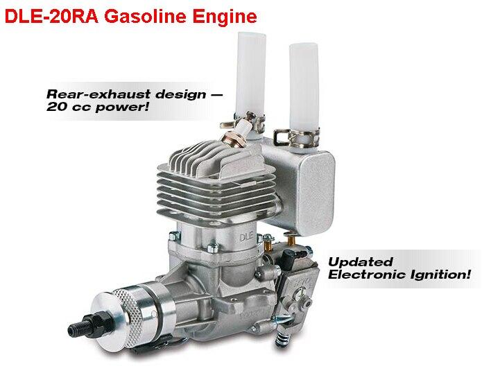 Original DLE 20CC DLE20RA Gasoline Engine for RC Model aluminum water cool flange fits 26 29cc qj zenoah rcmk cy gas engine for rc boat