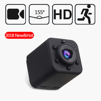 New SQ18 Mini Camera Head HD 1080P Camera Outdoor sports machine aerial photography DV free shipping
