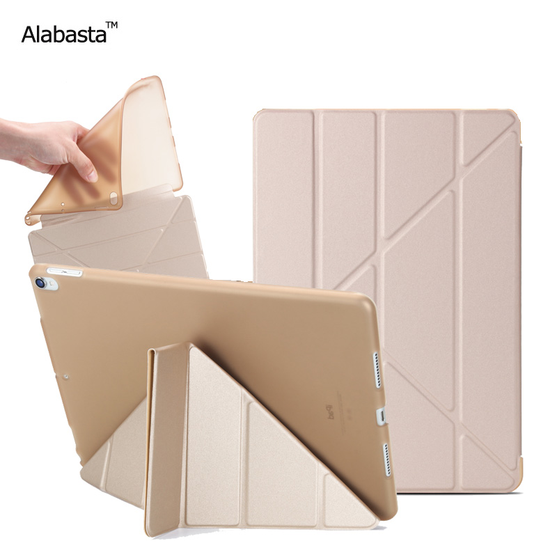Alabasta For Apple iPad 2017 case Model A1822 A1823 9.7inch Soft Tpu Leather Surface Cover Flip Stand Safe Smart Protection pen nice soft silicone back magnetic smart pu leather case for apple 2017 ipad air 1 cover new slim thin flip tpu protective case