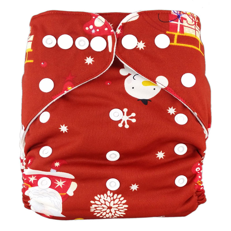 Ananbaby Cloth Diaper 1pcs Washable Diapers Reusable Baby Nappies Zeechi Wholesale Baby Cotton Couvre Couche Lavable