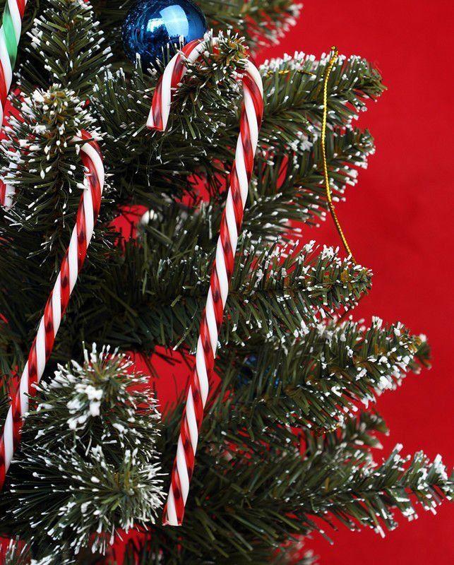 aliexpresscom buy 12 x acrylic candy cane xmas tree hanging decoration christmas ornaments free shipping from reliable christmas ornaments suppliers on