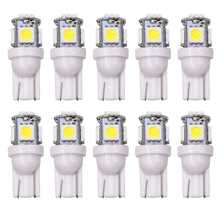 Wholesale 100pcs Promotion T10 5050 5SMD Car signal LED Light 194 168 192 W5W 12v Auto Wedge Lighting DC 12V lamp white red blue