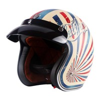Vintage Motorcycle Helmet TORC Open Face Helmet DOT Approved Half Helmet Retro Moto Casco Capacete Motociclistas