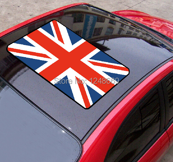 Flag of the uk england car roof stickers waterproof pvc car body sticker decal vinyl sticker