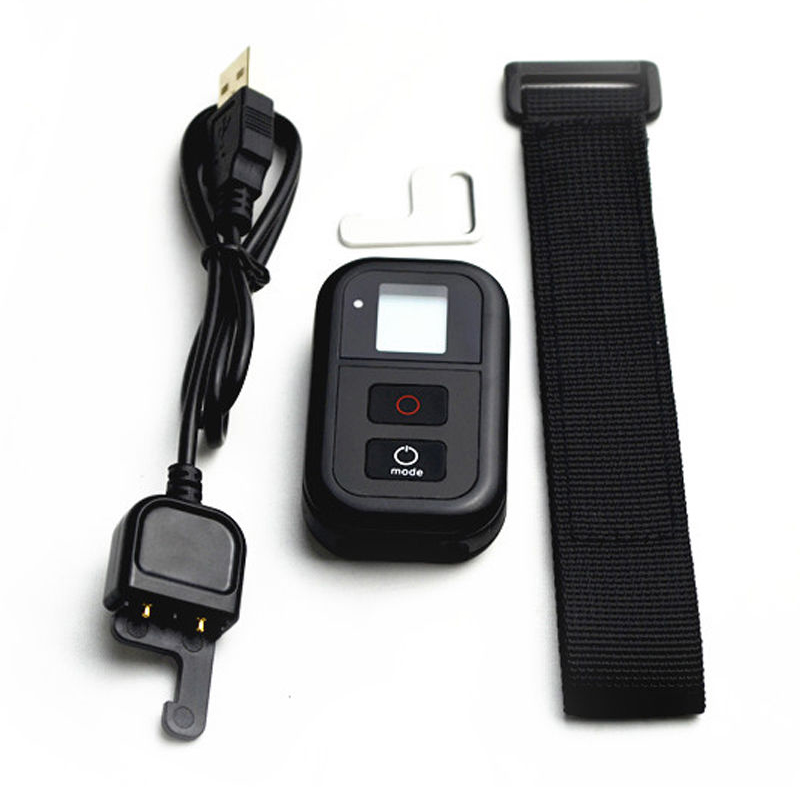Smart Wireless WiFi Remote Control RC Charge Cable Wrist Belt For GoPro Hero 3 3 4